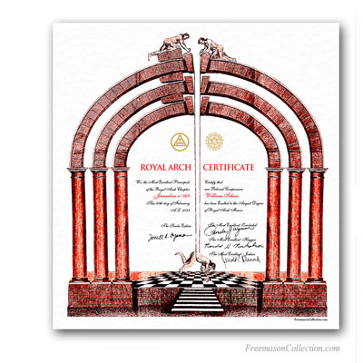 Royal Arch Certificate