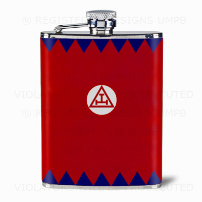 Masonic Hip Flasks. Masonic Gifts.