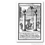 Columns of the Temple of Solomon . 1695