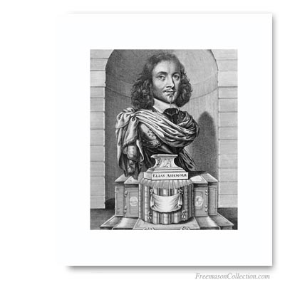 Elias Ashmole, First recorded English Freemason, initiated in 1646 ...