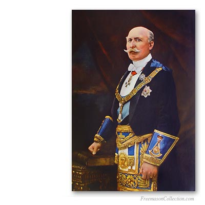 Duke of Connaught. Grand Master of the United Grand Lodge of England. Famous Freemasons. Freemasonry