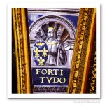 Cardinal Virtues : The strength France, early XVIth. Freemasonry