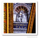 Virtues : Humility, France, early XVIth. Issued on Art Canvas. Freemasonry