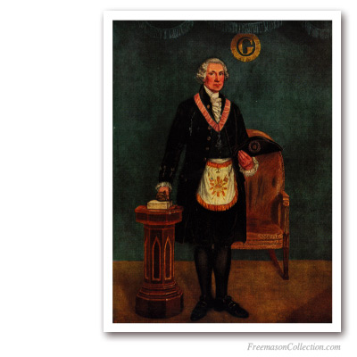 George Washington as a Mason. Masonic Paintings