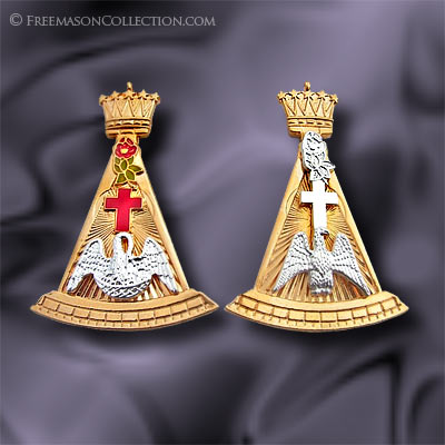 Rose Croix Collar Jewel