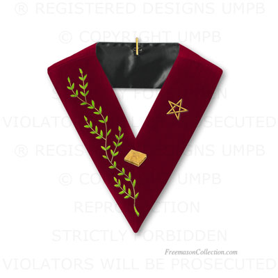 14° Degree Collar, Scottish Rite