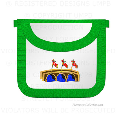 '15° Degree Apron- Scottish Rite Regalia
