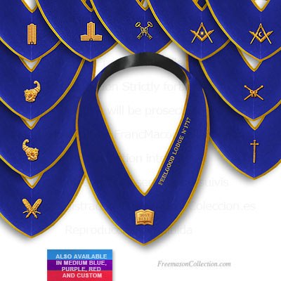 Set of 11 Officer Collars