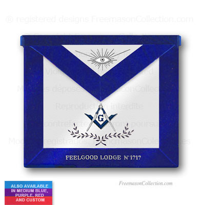 Blue Lodge Master Mason Apron