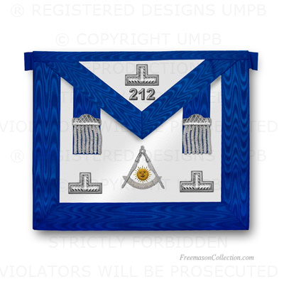 Blue Lodge Past Master Apron