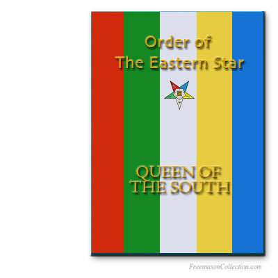 Order of the Eastern Star Queen of the South Ritual. OES rituals..