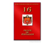 16° Prince de Jérusalem. Ancient and Accepted Scottish Rite. Freemasonry