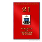 21° Chevalier Prussien. Ancient and Accepted Scottish Rite. Freemasonry