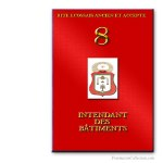 8° Intendant des Bâtiments. Ancient and Accepted Scottish Rite. Freemasonry