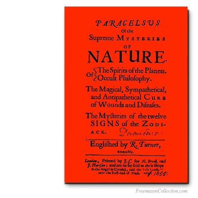 Paracelsus. Early Masonic Texts.