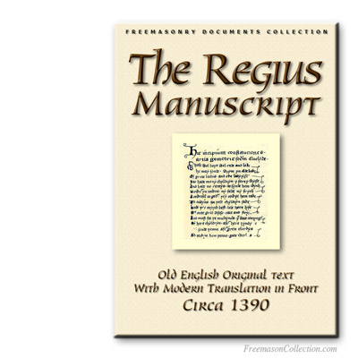 The Regius Manuscript. Early Masonic Cathechism.