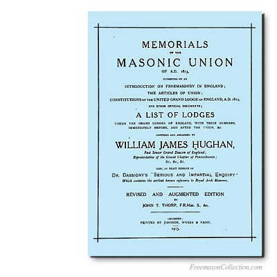 William James Hugan, Memorial of the Masonic Union.