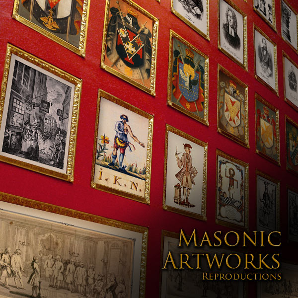 MASONIC ARTWORKS - FREEMASONRY