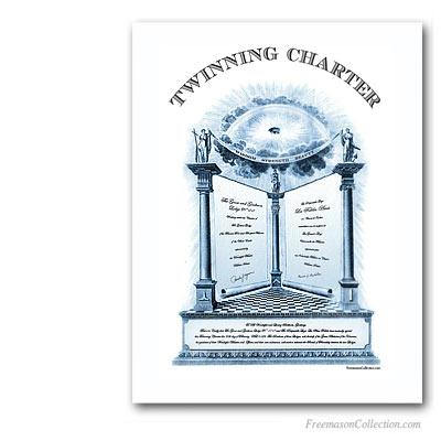 masonic twinning charter