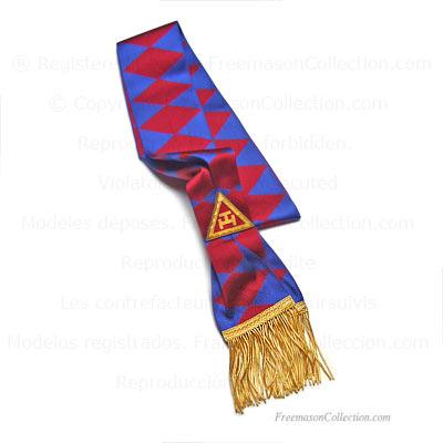 Royal Arch Sash - Principal  Masonic Chapter Regalia  Royal Arch