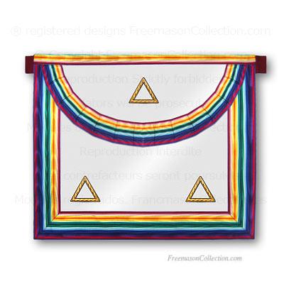 Royal Ark Mariner -RAM- Grand Rank Apron  Masonic Lodge