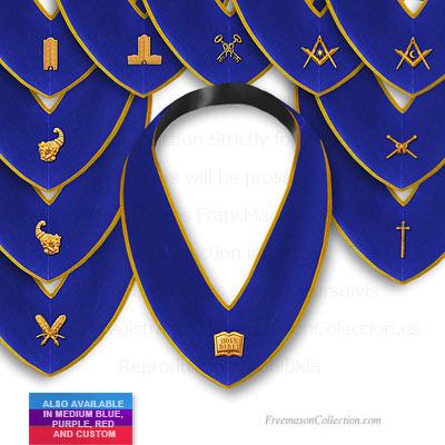 Masonic Craft Regalia Lodge Officer Master Mason Collar