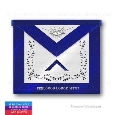 Blue Lodge Worshipful Master Apron Masonic Lodge Regalia
